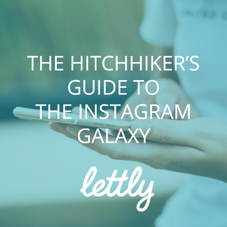 Okładka ebooka: The Hitchhiker's Guide to Instagram Galaxy